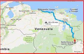 ruta hacia la gran sabana-venezuela-fysspro